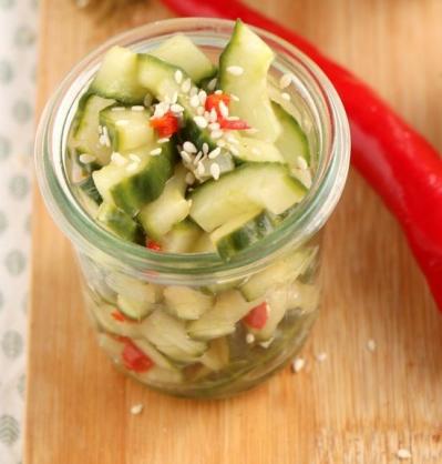 Hete komkommer