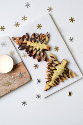 Beau's Kerstrecept: Bladerdeeg kerstboom hapjes