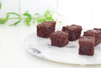Brownies met een verrassende twist (high tea)