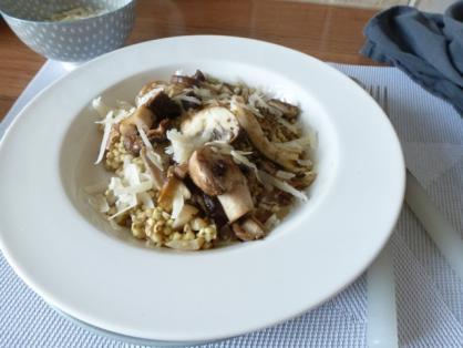 Vegan Kerstrecept: Boekweit risotto met paddenstoelen