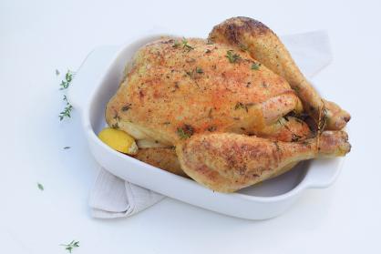 Beau's Kerstrecept: Citroenkip uit de oven met knoflook aardappeltjes