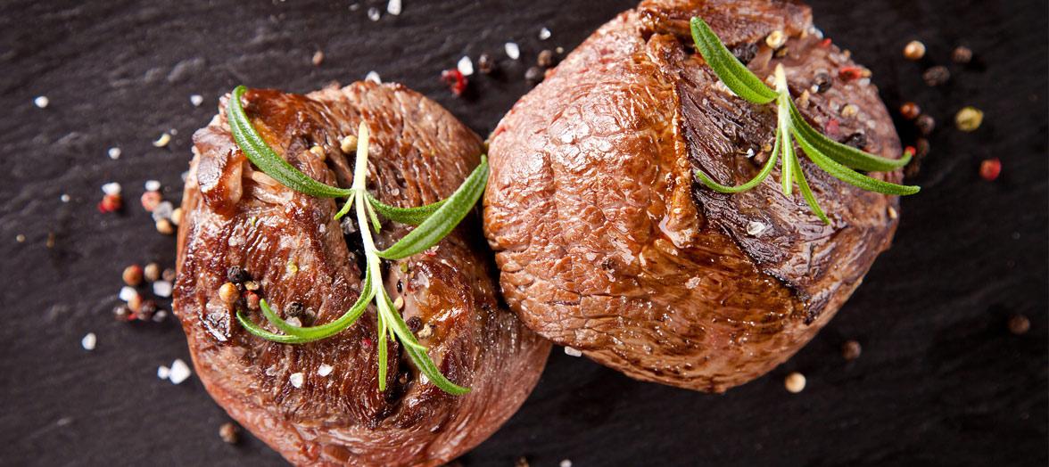 Vlees, kip, vis, vega