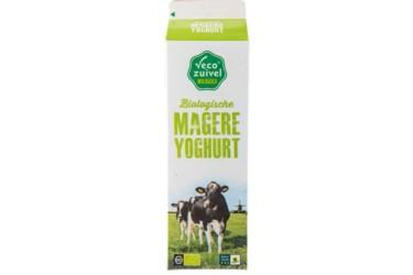 Biologische Magere Yoghurt (Vecozuivel, 1 liter)