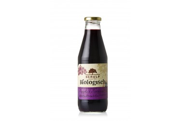 Biologische Appel & Vlierbessensap (Schulp, fles 750 ml)