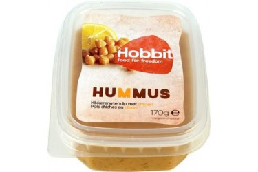 Biologische Vegan Spread Hummus (Hobbit, 170 gram)