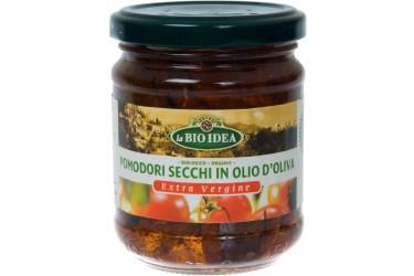 Biologische Zongedroogde Tomaten In Olijfolie (La Bio Idea,190 gram)