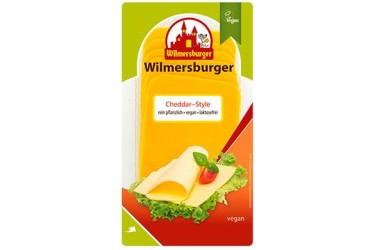 Biologische Plakjes Cheddar (Wilmersburger, 150 gram)