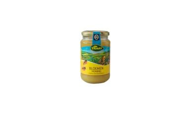 Biologische Bloemenhoning Crème (De Traay, 450 gram)