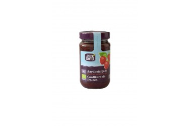 Aardbeienjam familiepot (Ekoland, 375 gram)