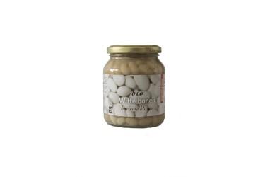 Biologische Witte bonen (Machandel, 340 ml)