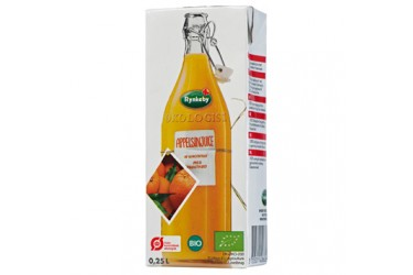 Sinaasappelsap Pakje Met Rietje (Rynkeby, 250ml)
