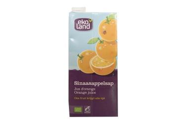 Biologisch Sinaasappelsap (Ekoland, 1 liter)