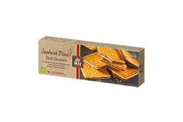 Biologische Sandwichkoekje Melk Chocolade (De Rit, 150 gram)