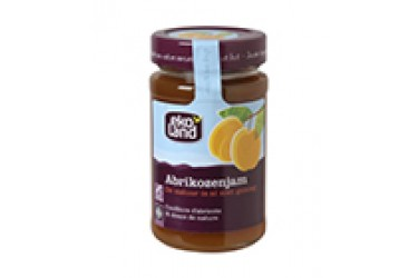 Biologische Abrikozenjam Familiepot (Ekoland, 375 gram)