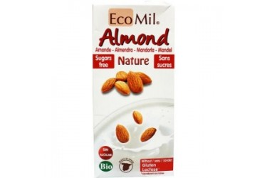 Biologische Amandeldrank Ongezoet (Ecomil, 1 liter)