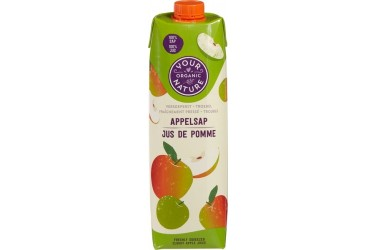Biologisch Appelsap (Your Organic Nature, 1 liter)