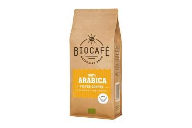 Biologische Filter Koffie Arabica (Biocafe, 250 gram)