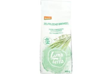 Biologisch Zelfrijzend Bakmeel demeter Voordeelverpakking (Luna e Terra , 4 x 500 gram)