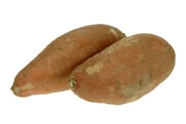 Biologische Zoete Aardappel - Bataat (500 gram)
