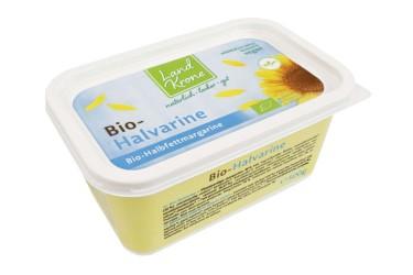 Biologische Halvarine (Landkrone, 500 gram)