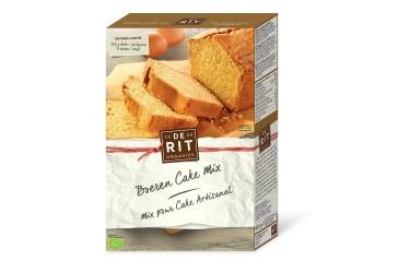 Biologische Boeren Cake Mix (De Rit, 400 gram)