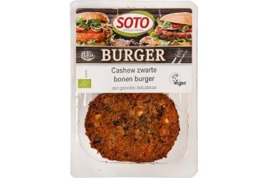 Biologische Cashew Zwarte Bonenburger (Soto, 250 gram)