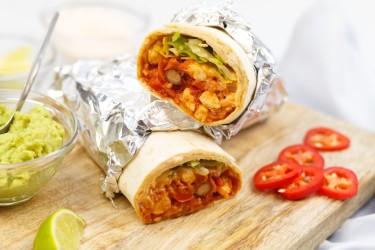 Biologisch Verspakket (4 personen, € 4,09 p.p.): Mexicaanse Burrito's (2,1 kg)