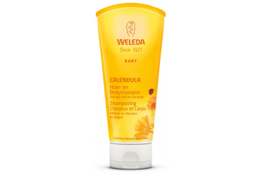 Weleda Calendula Haar- en Bodyshampoo (200 ml)