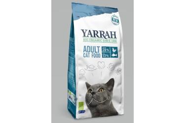 Biologisch Droogvoer met Vis voor katten (Yarrah, 10 kg)