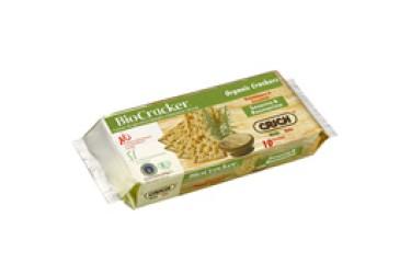 Biologische Crackers Sesam-Rozemarijn (Biocracker , 250 gram)