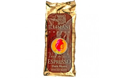 Biologische Koffie Espresso Dark Beans Inca (Illimani, 250 gram)
