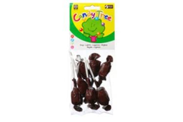 Biologische Droplollies (Candy Tree, 7 stuks)
