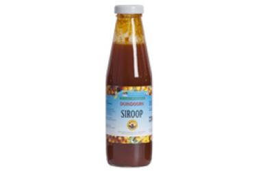 Biologische Duindoornsiroop (Waddendelicatessen, 500 ml)