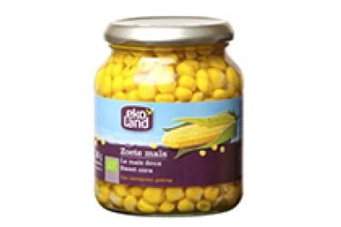 Biologische Zoete mais (Ekoland, 340 gram)
