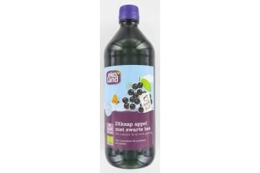 Biologische Appel-Zwarte Bes Diksap (Ekoland, 750 ml)