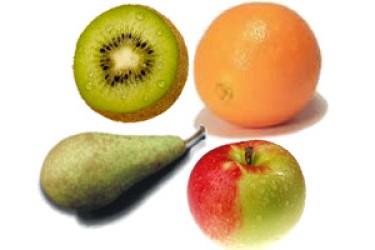 Biologische Fruitmix (6 stuks)