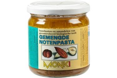 Biologische Gemengde Notenpasta (Monki, 330 gram)