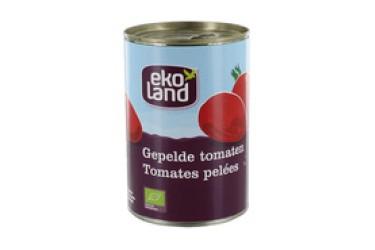 Biologische Gepelde Tomaten (Ekoland, 400 gram)