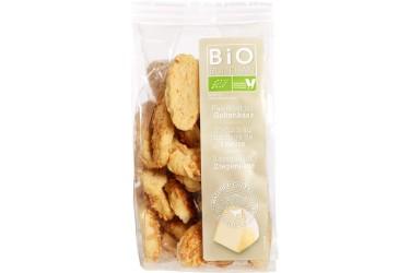 Biologische Geitenkaaskoekjes Voordeelverpakking (Buiteman, 10 x 75 gram)