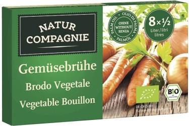 Biologische Groentebouillonblokjes (NaturCompagnie, 84 gram)