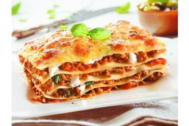 Biologisch Verspakket (4 personen, € 3,38 p.p.): Italiaanse Lasagne (1,4 kg)