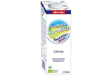 Biologische Melk Houdbaar Lactosevrij (Heirler, 1 liter)