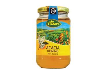 Biologische Acaciahoning, De Traay (900 g)