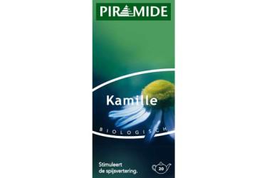 Biologische Thee Kamille (Piramide, 20 builtjes)