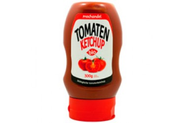 Biologische Tomatenketchup in knijpfles (Machandel, 300 ml)