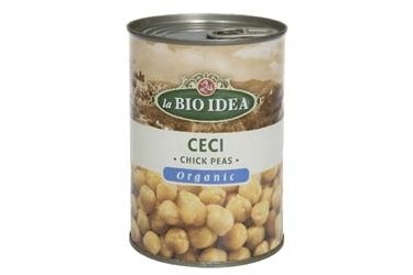 Biologische Kikkererwten (La Bio Idea, 400 ml)