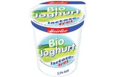 Biologische Yoghurt Mild Lactosevrij (Biedermann, 400 gr)