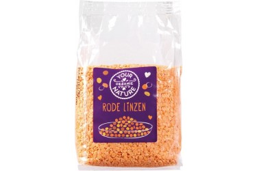 Linzen Rood (Your Organic Nature, 400 gram)