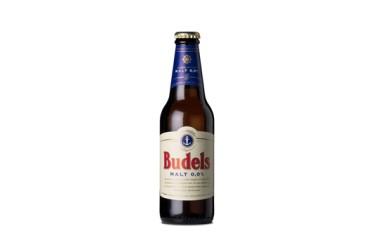 Biologische Maltbier Budels, 6-pack 0% alcohol