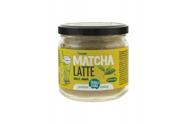 Biologische Instant Latte Matcha (Terrasana, 200 gram)